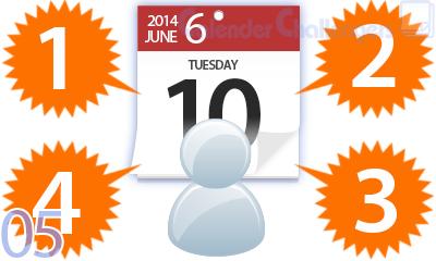 素材探しやレイアウトの悩み解決!カレンダーのデザインテク4つ