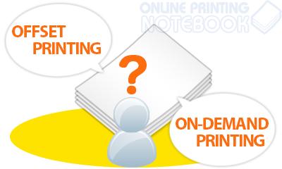 【ネット印刷用語】オフセット印刷とオンデマンド印刷の違いとは