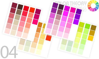 印象に残るチラシ作りの為に必須な色彩配色方法とトーン