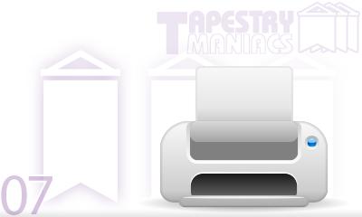 屋外ならラテックスがベスト?タペストリー印刷技術の知識と選択