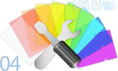 オリジナルクリアファイルの自作に使えるアイテム一式と作り方